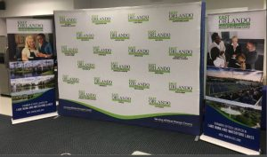 custom printed backdrop